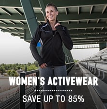 Women's Activewear - save up to 85%