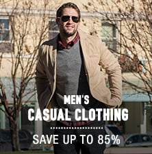 Men's Casual Clothing - save up to 85%