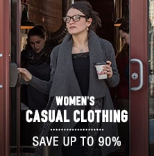 Women's Casual Clothing - save up to 90%
