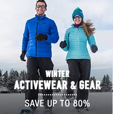 Winter Activewear & Gear - save up to 80%