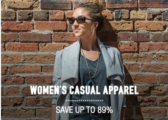 Women's Casual Apparel - save up to 89%