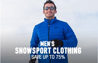 Men's Snowsport Clothing - save up to 75%