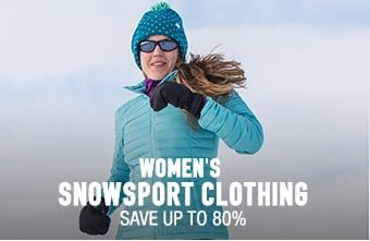Women's Snowsport Clothing - save up to 80%