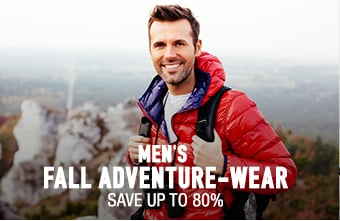 Men's Fall Adventure-Wear - save up to 80%