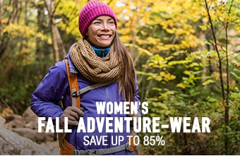 Women's Fall Adventure-Wear - save up to 85%