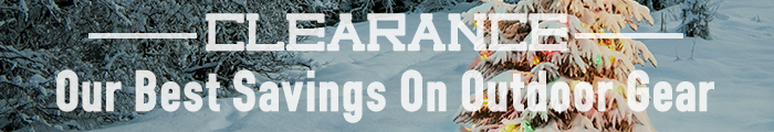 Clearance - Our Best Savings on Outdoor Gear