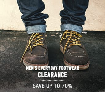 Men's Casual Footwear Clearance - save up to 70%