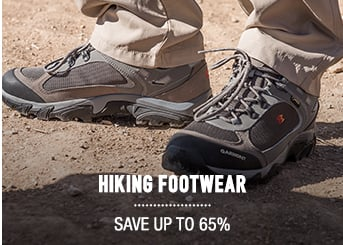 Hiking Footwear - save up to 65%