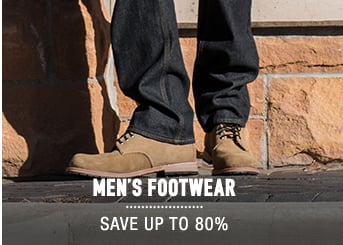Men's Footwear - save up to 80%