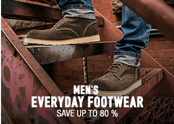 Men's Footwear - save up to 80%
