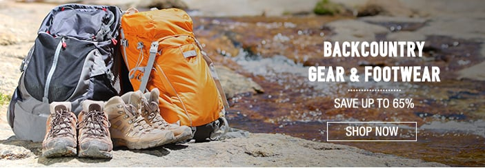 Backcountry Gear & Footwear - save up to 65%