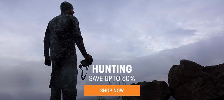 Hunting - save up to 60%