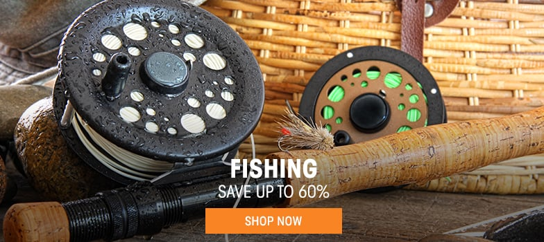 Fishing - save up to 60%