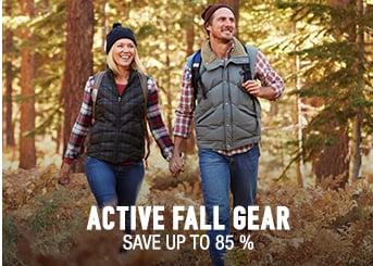 Active Fall Gear - save up to 85%