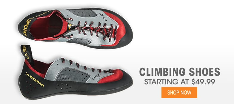 Climbing Shoes - Starting at $49.99