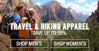 Travel/Hiking Apparel