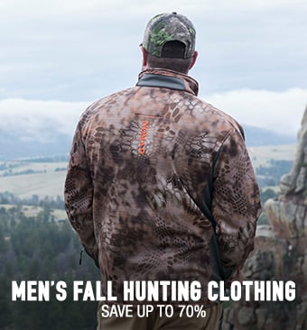 Men's Fall Hunting Clothing - save up to 70%