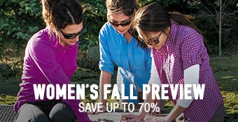 Women's Fall Preview - save up to 70%