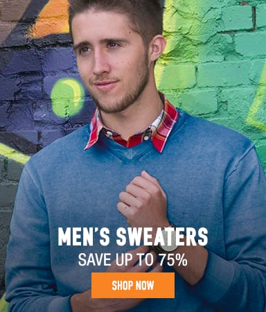 Men's Sweaters - save up to 75%