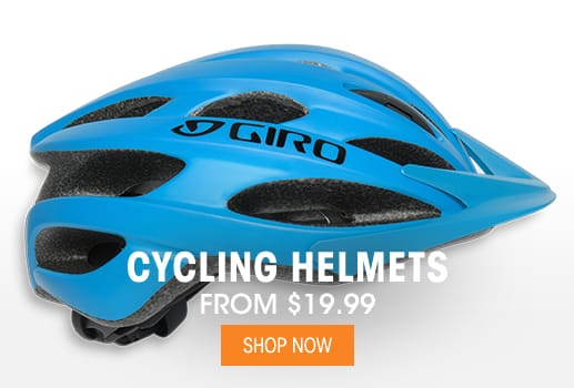 Cycling Helmets - From $19.99