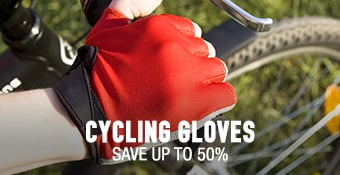 Cycling Gloves - save up to 50%