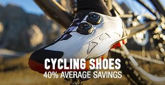 Cycling Shoes - 40% average savings