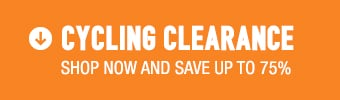 Cycling Clearance - save up to 75%