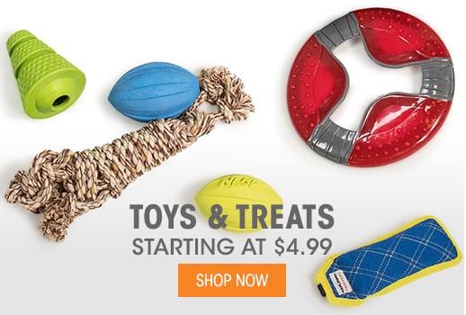 Toys & Treats - Starting at $4.99