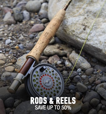 Rods & Reels - save up to 50%
