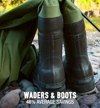 Waders & Boots - 46% average savings