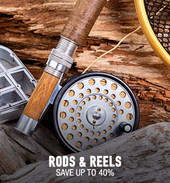 Rods & Reels - save up to 40%