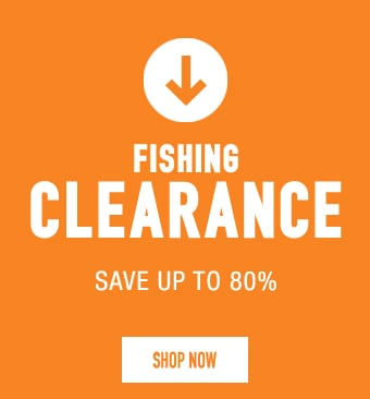 Fishing Clearance - save up to 80%