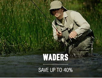 Waders - save up to 40%/