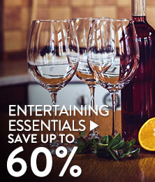 Entertaining - save up to 60%