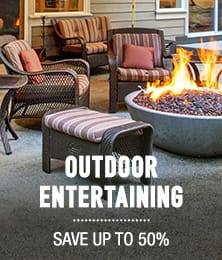 Outdoor Entertaining - save up to 50%