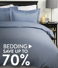 Bedding - save up to 70%