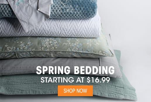 Spring Bedding - Starting at $16.99