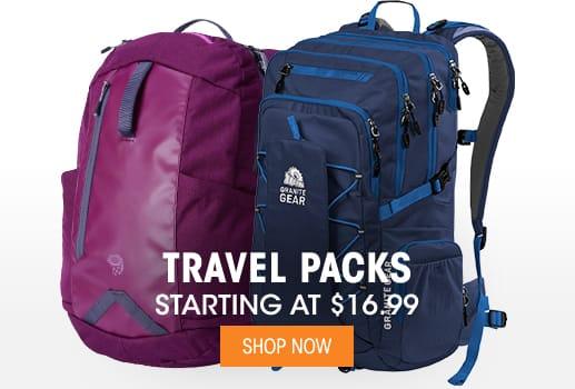 Travel Packs - Starting at $16.99