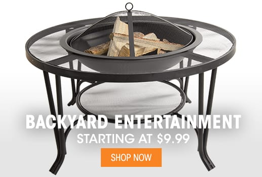 Backyard Entertainment - Starting at $9.99