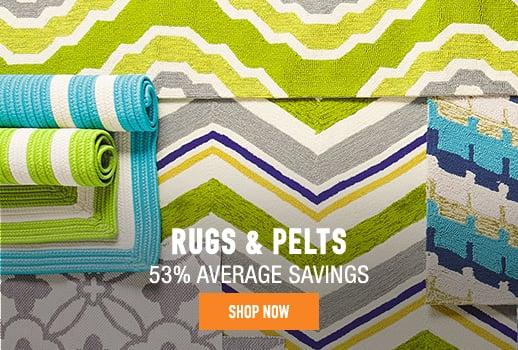 Rugs & Pelts - 53% average savings