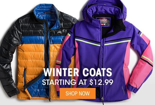 Winter Coats - Starting @ $12.99