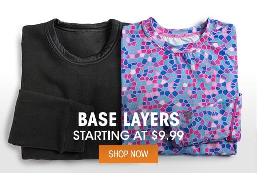 Base Layers - Starting @ $9.99