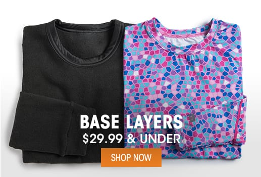 Base Layers - $29.99 & Under