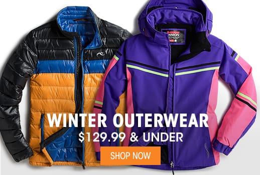 Winter Outerwear $129.99 & Under