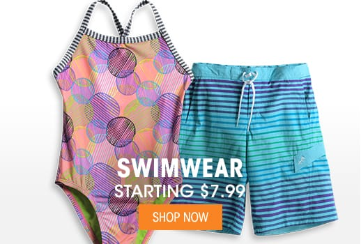 Swimwear - Starting at $7.99