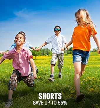 Kids' Shorts - save up to 55%