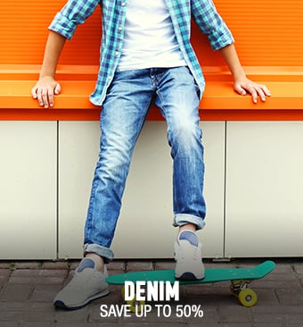 Denim - save up to 50%