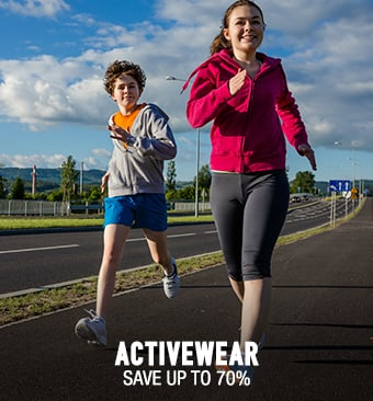 Activewear - save up to 70%