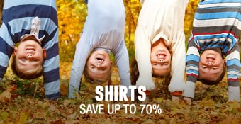 Shirts - save up to 70%