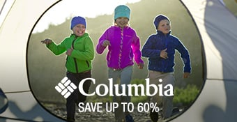 Columbia - save up to 60%